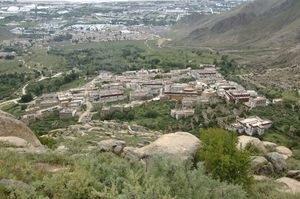 Drepung from above